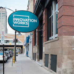 Image of Innovation Works Entrance, 211 King St., London Ontario